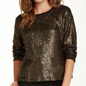 alice + olivia Boxy Raglan Sleeve Sweater sz M